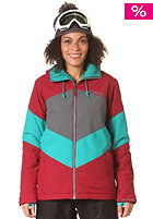 BILLABONG Womens Color Jacket bordeaux