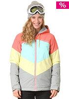 BILLABONG Womens Color Snow Jacket hot candy
