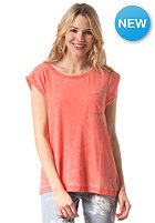 BILLABONG Womens Essential S/S T-Shirt hot coral