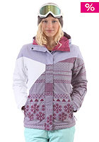 BILLABONG Womens Flake Print/Block Jacket lavender