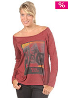 BILLABONG Womens High Livin L/S T-Shirt sangria