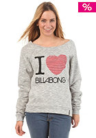 BILLABONG Womens I Love Crewneck grey heather