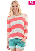BILLABONG Womens IDA Knit Sweat coral kiss