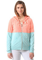 BILLABONG Womens Into Dust Hooded Zip Sweat blue bayou
