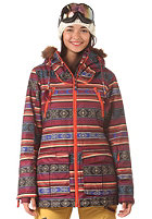 BILLABONG Womens Jamie Snow Jacket black cherry
