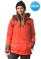 BILLABONG Womens Jamie Snow Jacket tangerine