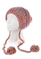 BILLABONG Womens Karibu Beanie hot candy