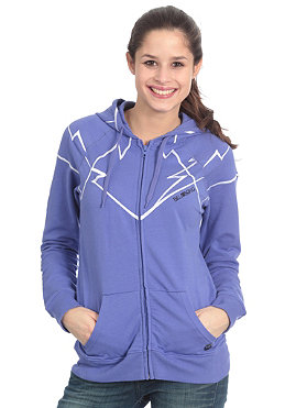 BILLABONG Womens Laura Hooded Zip Sweat neon violet