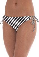 BILLABONG Womens Leia Low Rider Bikini Pant black stripe