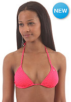 BILLABONG Womens Leia Slide Triangle Bikini Top red hot dots