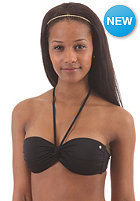 BILLABONG Womens Leia Twist Bandeau Bikini Top black