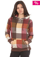 BILLABONG Womens Loe Hooded Sweat chocolate