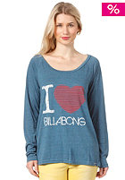BILLABONG Womens Love L/S T-Shirt denim blue