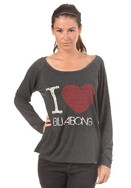 BILLABONG Womens Love L/S T-Shirt black heather