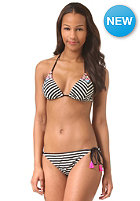 BILLABONG Womens Monterrico Strippe Bikini Set blk/white