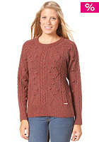 BILLABONG Womens Obstacle Knit Pullover sangria
