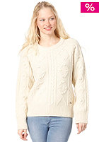 BILLABONG Womens Obstacle Knit Pullover white cap