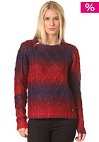 BILLABONG Womens Obstacle Knit Sweat backed apple