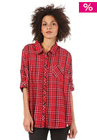 BILLABONG Womens Off Beat Shirt sangria