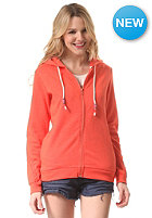 BILLABONG Womens Olivia Hooded Zip Sweat hot coral