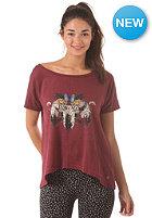 BILLABONG Womens Oriana S/S T-Shirt shiraz