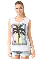 BILLABONG Womens Palm Poster white