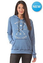 BILLABONG Womens Quater Street Hooded Zip Sweat blue bird