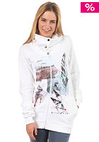 BILLABONG Womens Road Hooded Zip Fleece white