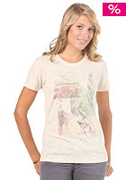 BILLABONG Womens Road S/S T-Shirt white cap
