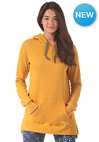 BILLABONG Womens Run On Hooded Zip Sweat mustard