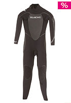 BILLABONG Womens SG5 5/4 Back Zip L/S Steamer Wetsuit black/black/black