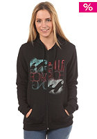 BILLABONG Womens Shatter Hooded Zip Sweat black
