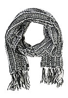 BILLABONG Womens Speckle Scarf black