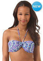 BILLABONG Womens Tiles And Tides Twisted Bandea Bikini Top carribean
