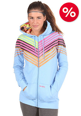 BILLABONG Womens Wylie Hooded Zip Sweat powder blue