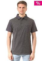 BILLABONG Zenith Solid Polo Shirt black heather