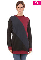 BJ�RKVIN Womens Mew Long Sweat plum