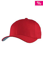 BLANK Flexfit Cap red