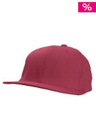 BLANK Flexfit Fitted Cap burgundy
