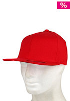 BLANK Flexfit Fitted Cap red