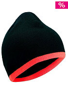 BLANK Low Stripe Beanie black/ orange