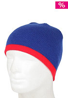 BLANK Low Stripe Beanie royal/ red