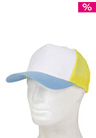 BLANK Three Colored Cap white-/yellow-/blue