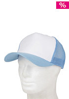 BLANK Two Colored Cap white- lightblue