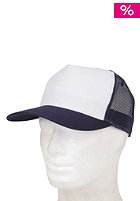 BLANK Two Colored Cap white- navy