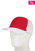 BLANK Two Colored Cap white- red