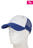 BLANK Two Colored Cap white- royalblue