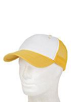 BLANK Two Colored Cap white- yellow
