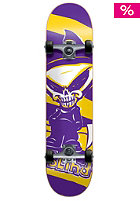 BLIND Mid SS Reaper Complete Skateboard purple/gold 7.30
