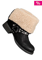 BLOWFISH Kenessa FURR Biker Bootie black fawn PU